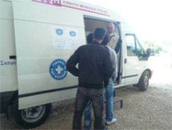 ギリシア:世界の医療団、移民に対する暴力的取り締まりを憂慮