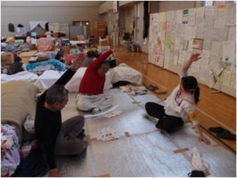世界の医療団「東北支援プロジェクト」 運動プログラム開始(再開)のお知らせ