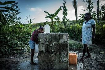 ハイチ:ハリケーンから3ヶ月