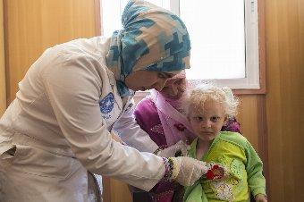 シリア情勢の悪化を受け、医療支援活動を強化