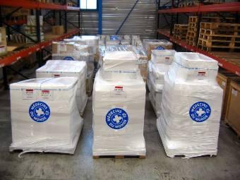 【緊急支援】 フィリピン台風被災地へ50トンの支援物資を発送