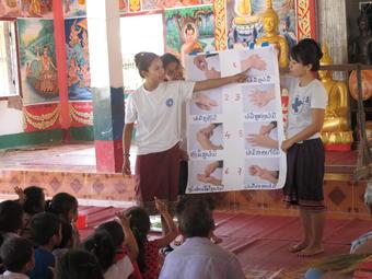 ラオス小児医療プロジェクト:現地活動レポート9