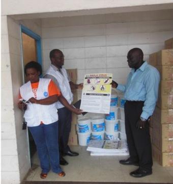 エボラ出血熱への世界の医療団の取り組みについて
