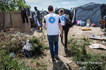 世界の医療団、フランスのカレーに緊急人道支援活動の拠点を設置