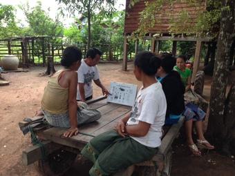 ラオス現地レポート17:村落健康教育普及活動について