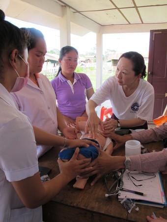 ラオス小児医療プロジェクト 現地レポート18