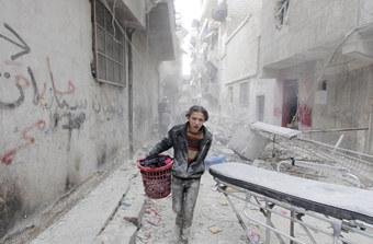 シリア・アレッポを救え!緊急署名活動を開始