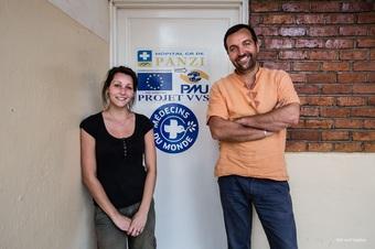 コンゴ:パンジ病院(デニ・ムクウェゲ医師設立、性暴力の被害者を治療・保護する)での活動