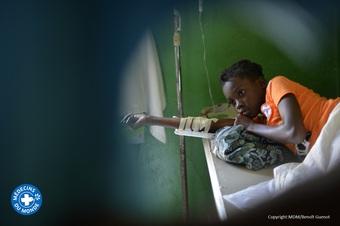 ハイチ:コレラへの緊急対応活動を開始、人々はショック状態に