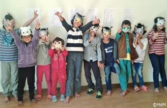 「ハリマの旅」がカヴァラ難民キャンプの子どもたちを一つにする