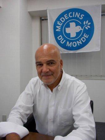世界の医療団 日本 理事長 ガエル・オスタン インタビュー