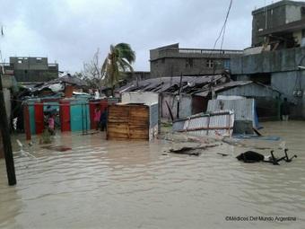 ハイチ:大型ハリケーン「マシュー」に対する緊急医療支援活動を開始