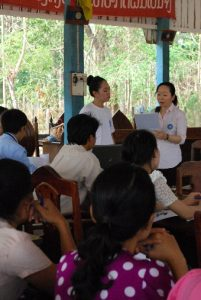 小児科医 早川依里子インタビュー 長い目で見てラオスのために。 ラオスの子どもの医療向上のために。