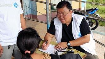 【緊急支援】フィリピンレイテ島での診療を開始