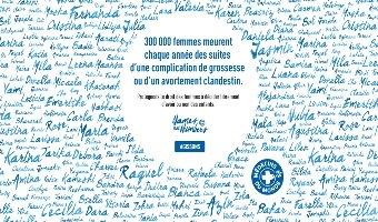 避妊と安全で合法な中絶の実現を求める国際キャンペーン、「Names not Numbers」を開始しました
