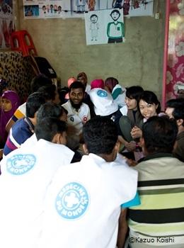 ロヒンギャ難民コミュニティ支援プロジェクト
