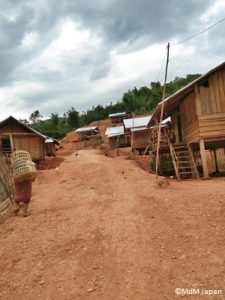 新しく開墾された土地に建設された家屋