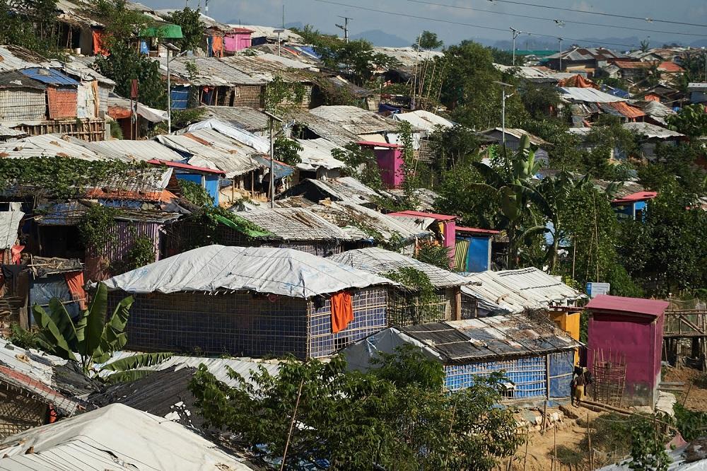 ロヒンギャ難民キャンプ