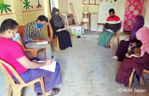 ロヒンギャ難民コミュニティ支援